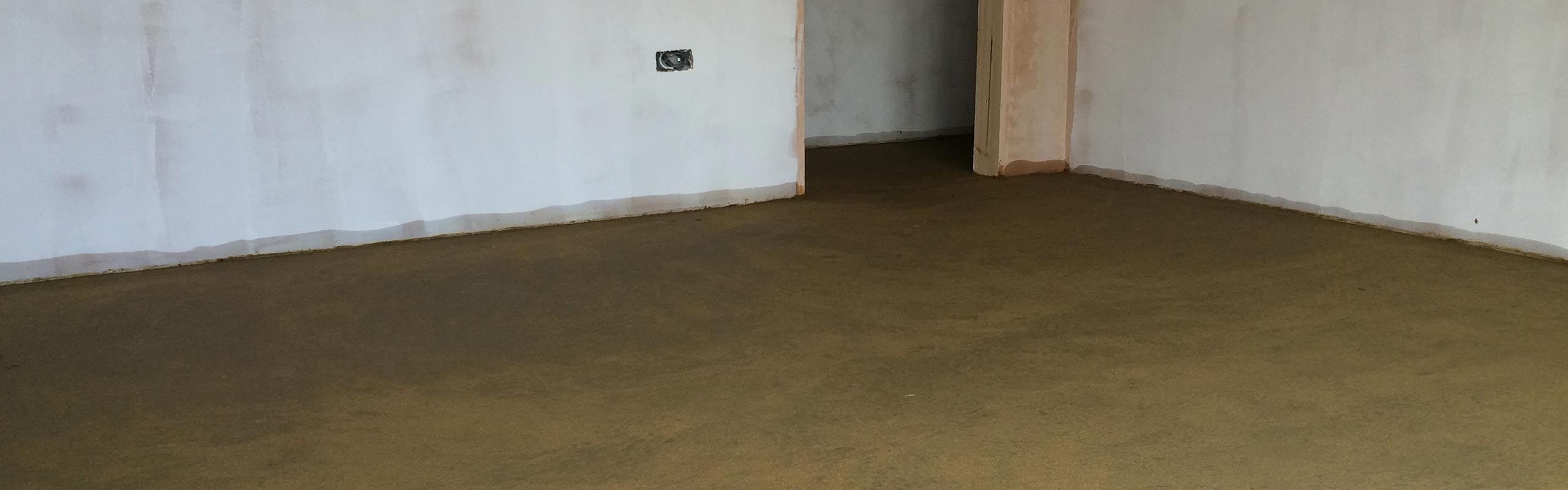 Screeded Floor